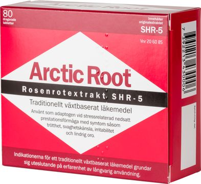 Arctic Root Rhodiola rosea, dragerad tablett, 80 st