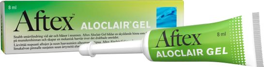Aftex Aloclair Gel Gel mot munsår/-blåsor, 8 g