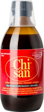 Chisan Växtbaserat läkemedel, oral suspension, 300 ml