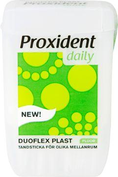 Proxident Duo Flex Av Plast Plasttandsticka, 60 st