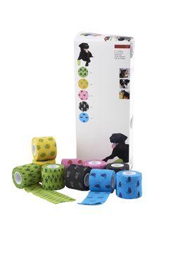Fun-Flex Elastisk binda Elastisk binda för djur, 5 cm, 10 st