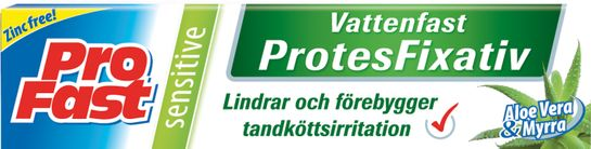 Profast Sensitive Protesfixativ Fixativ, 40 g