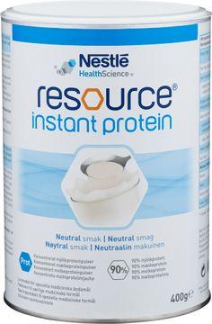 Resource Instant Protein Proteinpulver. Nestlé Health Science. 400 g.
