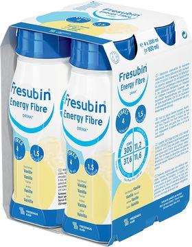 Fresubin energy fibre DRINK drickfärdigt kosttillägg, vanilj 4 x 200 milliliter