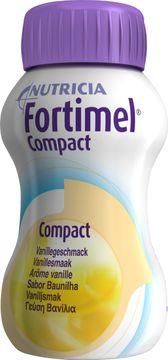 Fortimel Compact drickfärdigt kosttillägg, vanilj 4 x 125 milliliter