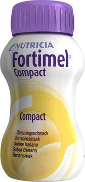 Fortimel Compact drickfärdigt kosttillägg, banan 4 x 125 milliliter