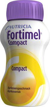 Fortimel Compact drickfärdigt kosttillägg, aprikos 4 x 125 milliliter