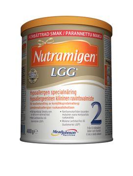 Nutramigen 2 LGG pulver, från 6 månader 400 gram
