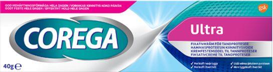 Corega Ultra Cream 40 gram