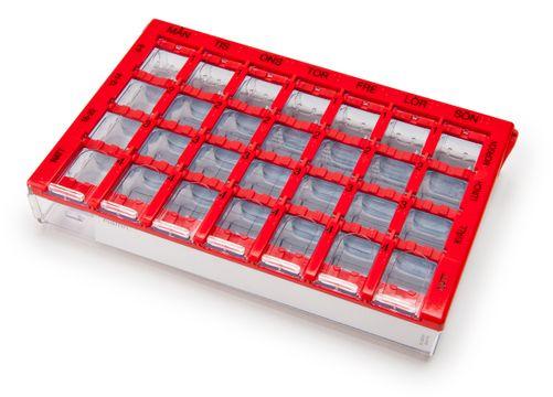 Dosett Maxi dispenser röd Dosett, 1 st