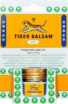Tiger Balsam Vit 19,4 g Salva, 1 st