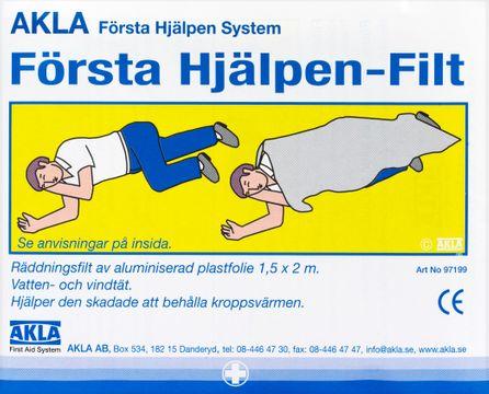 AKLA Första Hjälpen-Filt 1 st
