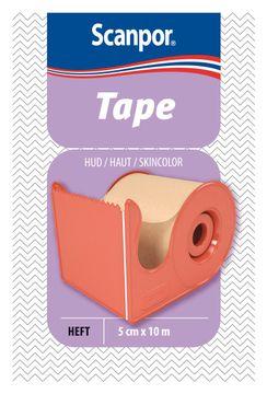 Scanpor Tape med hållare Elastisk tejp, 10 mx5 cm, 1 st