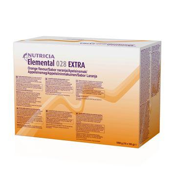 Elemental 028 Extra pulver, apelsin 10 x 100 gram