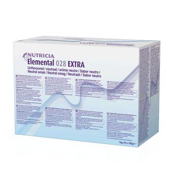 Elemental 028 Extra pulver, neutral 10 x 100 gram