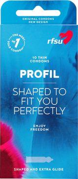 RFSU Profil Tunna och profilerade kondomer 10st