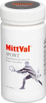 MittVal Sport kosttillskott Tablett, 100 st