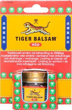Tiger Balsam Röd 19,4 g Salva, 1 st