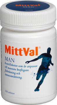 MittVal Man kosttillskott Tablett, 100 st