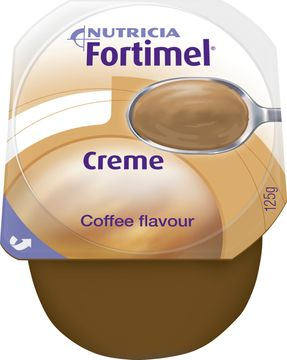 Fortimel Creme färdigt kosttillägg i krämform, mocca 4 x 125 gram