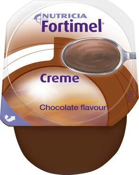 Fortimel Creme färdigt kosttillägg i krämform, choklad 4 x 125 gram