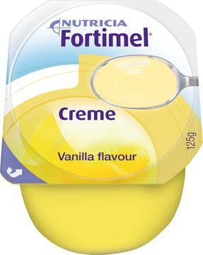 Fortimel Creme färdigt kosttillägg i krämform, vanilj 4 x 125 gram