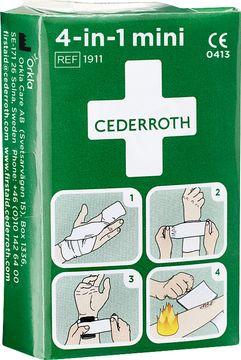 Cederroth Första Hjälpen 4-in-1 Mini 1 styck