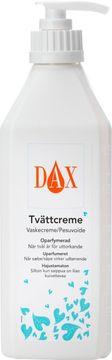DAX Tvättcreme med pump Tvättkräm, oparfymerad, 600 ml