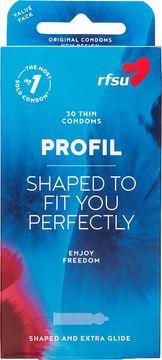 RFSU Profil kondomer Kondom, 30 st