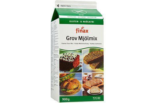 Finax mjölmix, grov 900 gram