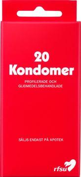 RFSU Kondomer Kondom, 20 st