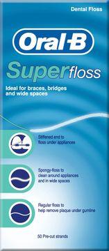 Oral-B Super Floss 50 st
