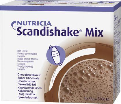 Scandishake Mix Choklad SCANDISHAKE MIX, CHOKLAD 6X85 G