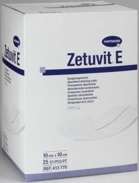Zetuvit E sterilt absorptionsförband, 10x10 cm 25 styck