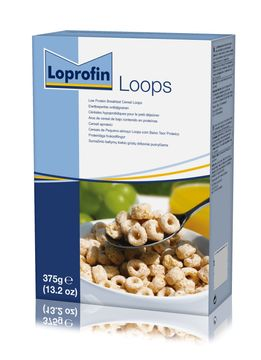 Loprofin Frukostflingor flingor, Loops 375 gram