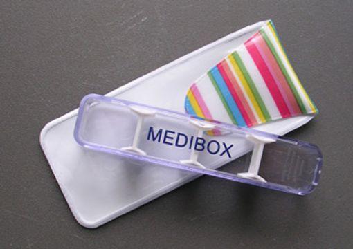 MediBox Doseringsask + Fodral Doseringsask, 1 st