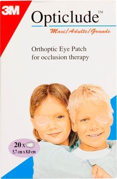 Opticlude Ögonförband Normal Ögonförband, 20 st