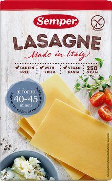 Semper Pasta pasta, lasagne 250 gram