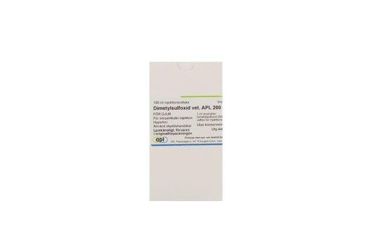 Dimetylsulfoxid vet. APL Injektionsvätska, lösning 200 mg/ml 100 milliliter