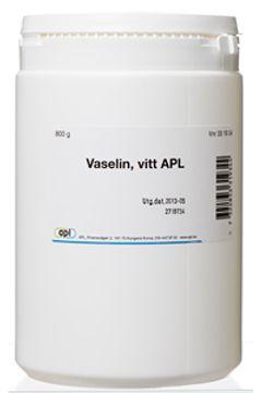 VASELIN Vaselin Vitt 800 G