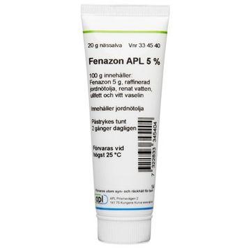 Fenazon APL Nässalva 5 % 20 gram