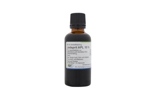 Jodsprit APL Dentallösning 10 % 50 milliliter