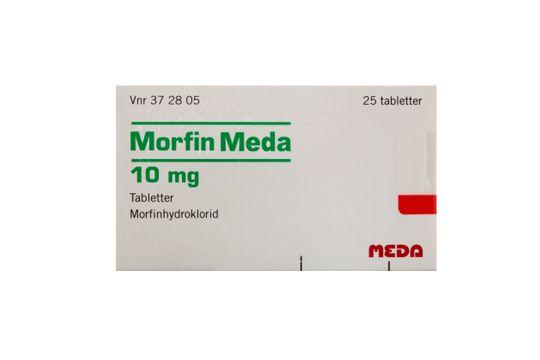 Morfin Meda Tablett 10 mg Morfin 25 styck