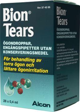 Bion Tears Ögondroppar, lösning 28 x 0,4 milliliter