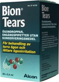 bion tears ögondroppar