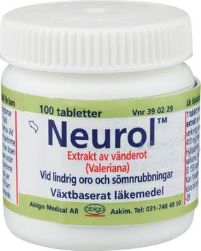 Neurol Växtbaserat läkemedel, dragerad tablett, 100 st