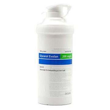 Glycerol Evolan Kräm 200 mg/g Hudkräm, 500 g