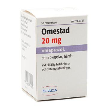 Omestad Enterokapsel, hård 20 mg