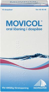 Movicol Oral lösning i dospåse 10 dospåsar