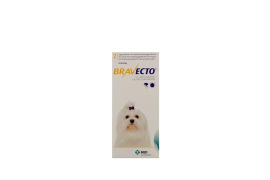 Bravecto för mycket små hundar (2-4,5 kg) Tuggtablett 112,5 mg 2 tablett(er)